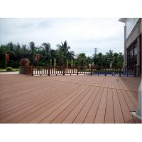 Buy cheap Outdoor Hollow Wpc Decking Decorate Board/Advertising Hollow Plastic Board product
