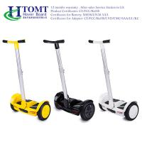 Buy cheap Dustproof 2 Wheel Self Balancing Scooter 36V 4.4AH Lithium Battery from wholesalers