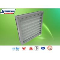 Buy cheap Aluminum Frame Washable Pleated Panel Pre Air Filters For Ventilation System from wholesalers