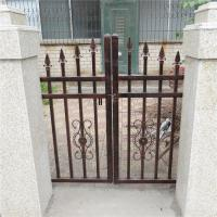 Buy cheap Antique brass color wrought iron fence model DK002 from wholesalers
