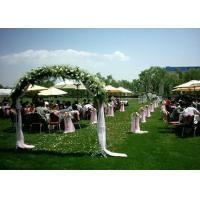32mm Soft Plastic Artificial Grass For Wedding Decoration 4 Tone Wear Resistance