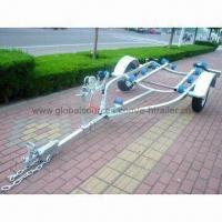Buy cheap Boat/Yacht Trailer with Roller and Bunk System, Customized Designs and Specifications are Welcome from wholesalers