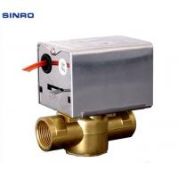 Buy cheap HVAC system water and steam motorized pressure control valve from wholesalers