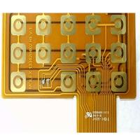 Buy cheap Yellow Soldermask Flexible PCB Prototype FR4 Stiffener Touch FPCB Polyimide Panel from wholesalers