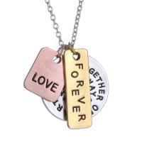 Buy cheap Personalized custom pendant necklace,silver gold plated letter necklace,words necklace for friends from wholesalers