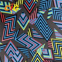 Buy cheap Fashional Printing Synthetic PU PVC Artificial Leather For Bag / Sofa product