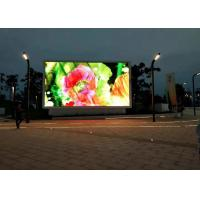 Buy cheap Full Color P10 Outdoor Fixed LED Display IP67 Waterproof For Video Advertising from wholesalers