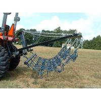 Buy cheap 8FT Chain Harrow Landscape Lawn Drag Arena ATV Rake,Flexible Pasture Harrow with Drawbar from wholesalers