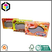 Buy cheap Biscuits Cardboard Packaging Box with Clear Window; Open Ends Cardboard Box from wholesalers