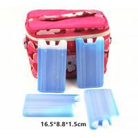 Transparent Cool Bag Ice Packs Super Absorbent Polymer Engraving Logo