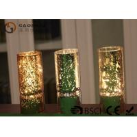 Buy cheap Different Sizes Mason Jar Fairy Lights Gold / Silver Color 3*AAA Battery Type product