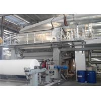 Buy cheap Single Wire Tissue Paper Making Machine Toilet Roll Manufacturing Machine from wholesalers