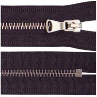 Buy cheap Brass Plating Metal Teeth Close End Garments Zipper  With Auto Lock from wholesalers