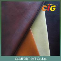 Buy cheap Printing roll Package PU Sofa Leather , PU Leather for furniture Sofa and Chairs product