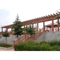 Buy cheap Real Wood Colors Garden Composite Wood Pergola With Real Estate Type from wholesalers