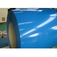 Buy cheap 0.77 * 914mm Pre Painted Steel Coil , 3000 - 12000mm Length Color Coated Coil from wholesalers