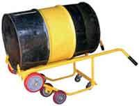 Buy cheap Hydraulic Drum Hand Truck from wholesalers