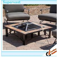 Buy cheap Square Tile Fire Pit - Desert Sand Patio Furniture Accessories for Outdoor Living from wholesalers
