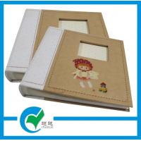 Buy cheap Customized Kraft Thick Cardboard Printing Personalised Photo Album For Home Photo Collection from wholesalers