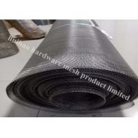 Buy cheap UNS S32750 Stainless Steel Wire Mesh With Twill Weave Type For Oil Industry from wholesalers