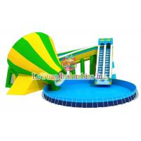 Buy cheap Multi Color Metal Frame Pools With Galvanized Steel Pipes Easy Assemble product