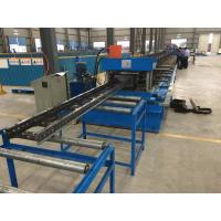 Steel Channel Ladder Cable Tray Making Cold Roll Forming Machine 10 - 12 m / min