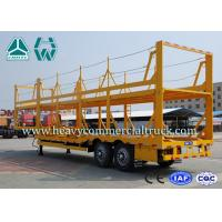 Quality Light Weight Car Carrier Semi Trailer Hydraulic Lifting Vehicle Hauling Trailers for sale