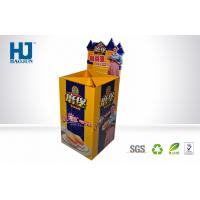 Buy cheap Retail Bakery Display Stand Cardboard Display Stand for Bread , Pos Cardboard Dump Bins from wholesalers