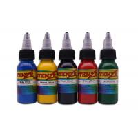 Buy cheap 7 Color Options Permanent Tattoo Ink , 30ml / 1oz / Bottle Intenze Tattoo Ink from wholesalers