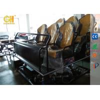 Buy cheap Electric Motion Movie Theater Seats Strong Vibration System For 5d 7d Theater product