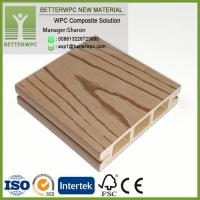 Buy cheap China Supply 100*25 Wood Plastic Composite Boards Profile Deck 3D Embossed Waterproof WPC Floor from wholesalers
