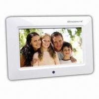 Buy cheap 7-inch Digital Photo Frame with 480 x 234 Pixels Resolution and Full-functional Remote Control product