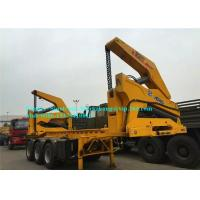 Buy cheap Commercial Port Handling Equipments 20ft 40ft Box Side Lifter Trailer Yellow Color product