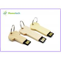 Buy cheap keychain High Speed Usb Flash Drive , Personalised wooden usb sticks gift product