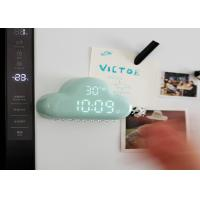 Buy cheap Silent Intelligent Rechargeable Night Light Cloud Alarm Clock With Temperature / Date from wholesalers