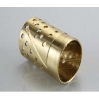 Buy cheap Sturdy Bronze Self Lubricating Bearing Brass Color Corrosion Resistant from wholesalers