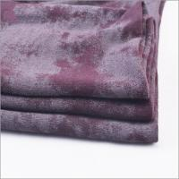 Buy cheap Rusha Textile Single Jersey Plain Dyed 95% Viscose 5% Spandex Open End OE Spun Rayon Knit Stretch Fabric with Offset from wholesalers
