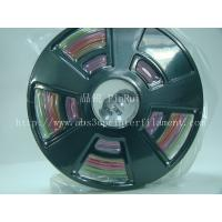Buy cheap Multicolor gradient 3d printer filament, one roll have the many colors ,new filament product