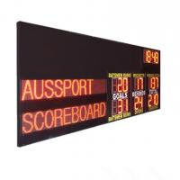 Buy cheap FBC 2 Modes Sports AFL Electronic Scoreboard With Led Team Name , Long Life Span from wholesalers