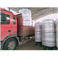 Quality Vertical Compressed Oxygen Storage Tank 110 Degree Operating Temperature for sale
