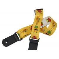 Buy cheap Ukulele small guitar shoulder strap 1.5 polyester Cartoon fruit beta tower folk wood electric guitar strap bass studen from wholesalers