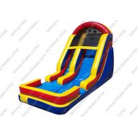Buy cheap 0.55 mm PVC Hippo Garden Inflatable Lake Slide For Pool With Fire Resistance from wholesalers