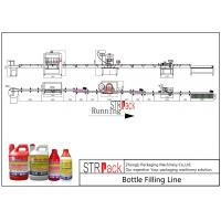 Buy cheap Agro Chemical Bottle Filling Line / Stable Performance Pharmaceutical Liquid Filling MachinesLine from wholesalers