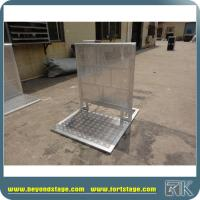 Buy cheap Folding gate barrier for performance from wholesalers