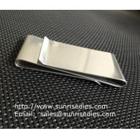 Buy cheap Dual Stainless Steel Money Clips for men, double sided steel money clips, from wholesalers