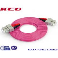 Buy cheap Duplex / Simplex Fiber Optic Patch Cord , Optical Fiber Patch Cable With FC / PC Connector from wholesalers