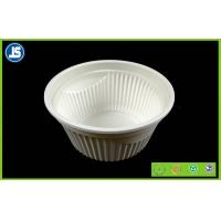Buy cheap Eco Friendly Cornstarch Biodegradable Plastic Container , Food Trays product