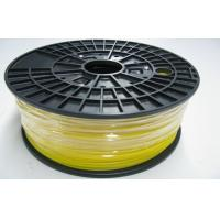 Buy cheap Yellow Durable 3D Printer ABS Filament Roll 1.75mm , Grade A product