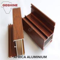 Buy cheap T5 / T6 Wood Finish Aluminium Profiles For Transportation Square Shape product