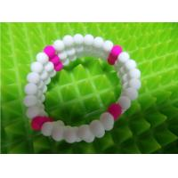 Buy cheap Holiday Decoration & Gift Sports Silicone Bracelets , Soft Silicone Rubber DIY from wholesalers